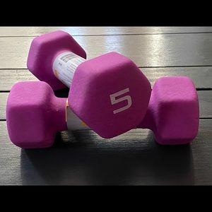 Weight set 5 lbs